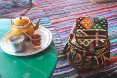 Bedouin Tea Royalty Free Stock Photos