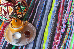 Bedouin Tea Royalty Free Stock Photo