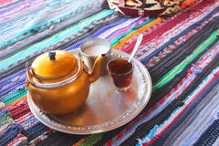 Bedouin Tea Royalty Free Stock Images