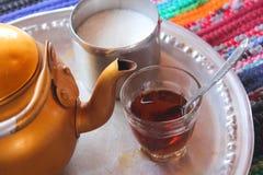 Bedouin Tea Royalty Free Stock Photography
