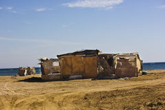Bedouin Tent House Stock Images