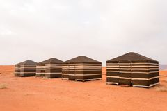 Bedouin tents Wadi Rum desert Jordan Royalty Free Stock Photo & Tents Of The Nomadic Bedouin Tribes Stock Image - Image of rocks ...