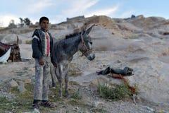 Bedouin van Jordanië royalty-vrije stock afbeeldingen
