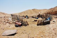 Bedouin village. Stock Image