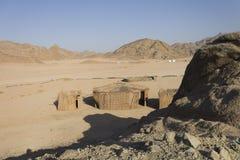 Bedouin village in Hurghada in desert Stock Photography