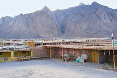 Bedouin village Royalty Free Stock Image