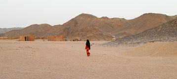 Bedouin woman Stock Photography