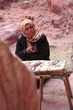 Bedouin woman Royalty Free Stock Photo