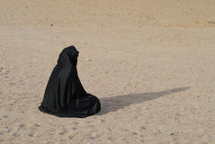 Bedouin woman Stock Photo