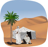 Bedouins Royalty Free Stock Image
