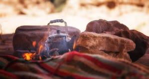 BedouinTea royalty-vrije stock afbeeldingen