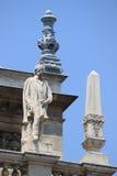Bedrich Smetana雕象在布达佩斯歌剧院里  库存图片