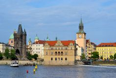 Bedrich Smetana Museum in Prag Stockfotografie