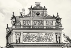 Bedrich Smetana museum in Prague, Czech republic, colorless Royalty Free Stock Photos