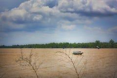 Bedrieg Phung-Eiland stock afbeeldingen