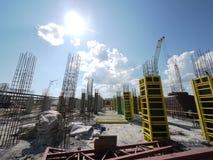 Bedrijf GAZPROM in Novy Urengoy, YANAO, 6 Juni, 2011 Stock Afbeeldingen