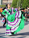 Bedrijf van de Dans van Calpulli het Mexicaanse Stock Foto's