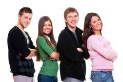 Bedrijf van jonge mensen Stock Foto