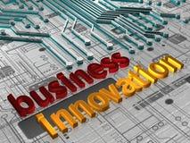 Bedrijfs 3D Innovatie - vector illustratie