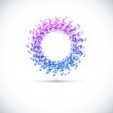 Bedrijfs Abstract Cirkelpictogram. stock illustratie