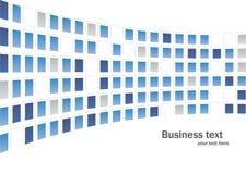 Bedrijfs abstracte achtergrond Stock Fotografie