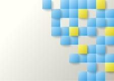 Bedrijfs abstracte achtergrond voor reclame Stock Afbeelding