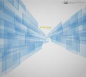 Bedrijfs Abstracte Blauwe Achtergrond Royalty-vrije Stock Afbeelding