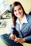 Bedrijfs accountantsportret Stock Fotografie