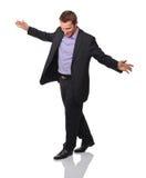 Bedrijfs acrobaat Stock Foto