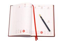 Bedrijfs agenda Royalty-vrije Stock Fotografie