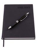 Bedrijfs agenda die voor 2013 met pen wordt geplaatst Royalty-vrije Stock Afbeeldingen