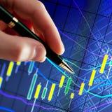 Bedrijfs analyse Royalty-vrije Stock Foto