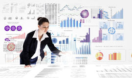Bedrijfs analytics stock afbeeldingen