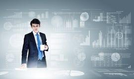 Bedrijfs analytics Royalty-vrije Stock Foto