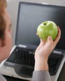 Bedrijfs appel Stock Foto