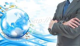 Bedrijfs banner Royalty-vrije Stock Afbeelding