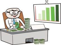 Bedrijfs beeldverhaal Stock Afbeelding