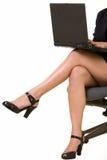 Bedrijfs benen stock afbeelding
