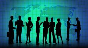 Bedrijfs bespreking Stock Afbeeldingen