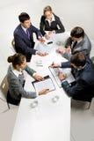 Bedrijfs briefing stock fotografie