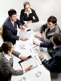 Bedrijfs briefing Royalty-vrije Stock Afbeeldingen