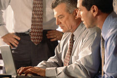 Bedrijfs bureauberoeps stock foto's