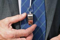 Bedrijfs busactie Royalty-vrije Stock Fotografie