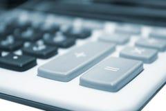 Bedrijfs calculator stock fotografie