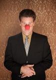 Bedrijfs Clown Royalty-vrije Stock Afbeelding