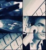 Bedrijfs collage Royalty-vrije Stock Afbeelding