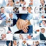Bedrijfs collage Royalty-vrije Stock Foto