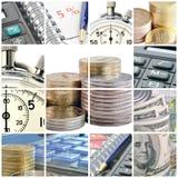 Bedrijfs collage Stock Afbeeldingen