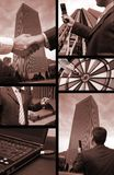 Bedrijfs collage Royalty-vrije Stock Fotografie