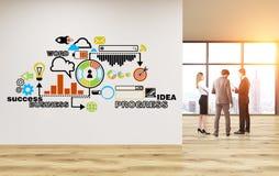 Bedrijfs concept Stock Foto